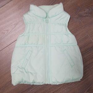 Oshkosh Puffer Vest Mint (24M)